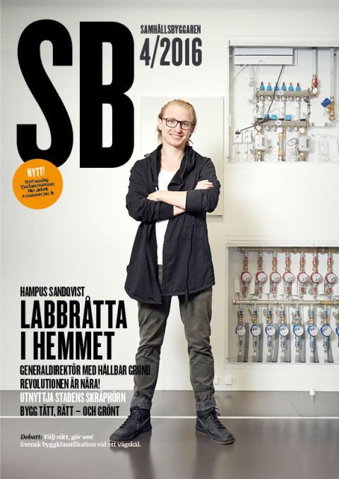 Premiär! Samhällsbyggnadssektorns ledande branschmagasin - nu även digital!