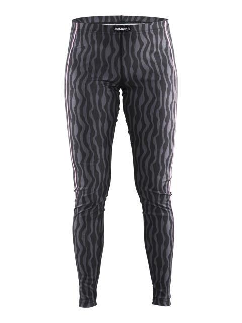 Underställsbyxa för dam i färgen P Zebra Black/Pop