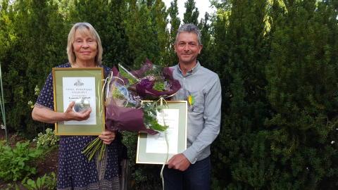 Riksförbundet Svensk Trädgård delar ut kungliga trädgårdsmedaljer