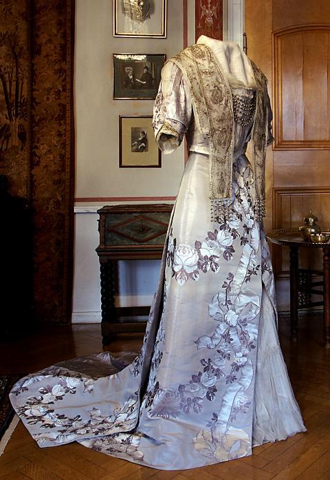 Selma Lagerlöfs nobelklänning 1909,