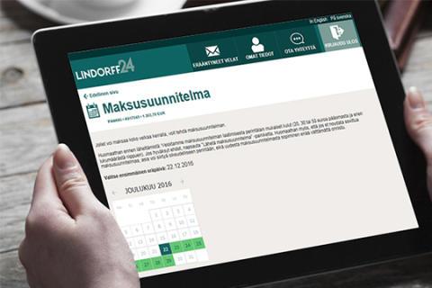 Lindorff24.fi – maksuasiat kuntoon ympäri vuorokauden
