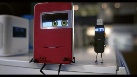 Elgigantens nya reklamkoncept - Extie & Usbie