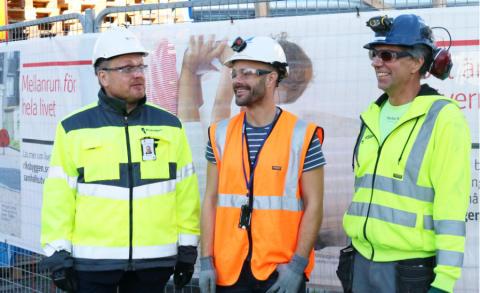 Tre Riksbyggen-projekt i Uppsala:  Fyra år utan frånvaro på grund av skada