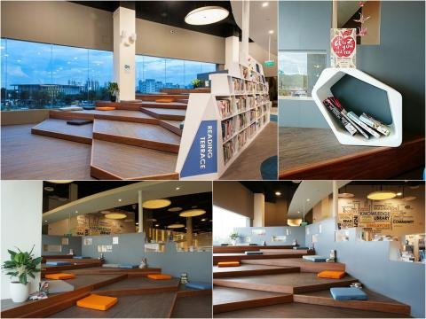 Pasir Ris Library Re-Opens with a Brand New Look!