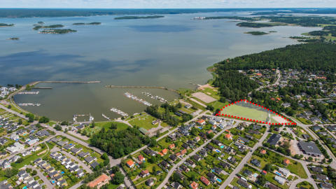 Stora mängder jord till Lindö
