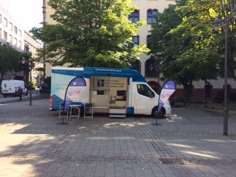 Beratungsmobil der Unabhängigen Patientenberatung kommt am 17. September nach Wuppertal.