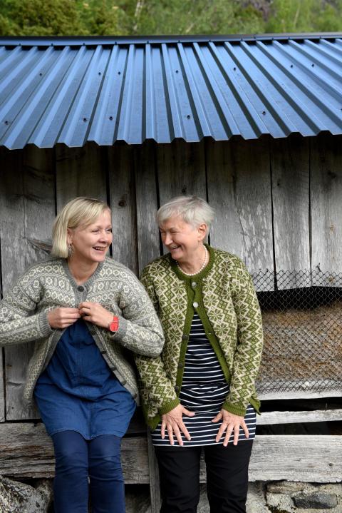 Forfattar Kjersti Mjør og Oddny Miljeteig
