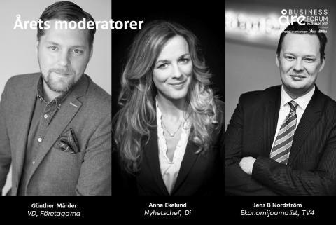 Succémoderatorerna kommer tillbaka till Nordens Davos 29-31 mars!