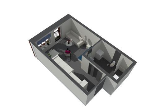 Lägenhet i vårdboendet i Vallastaden