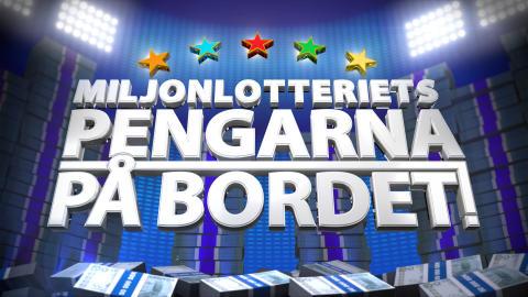 Logo Miljonlotteriets Pengarna på bordet!