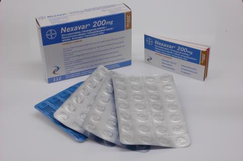 Nexavar förlänger livet för patienter med levercancer