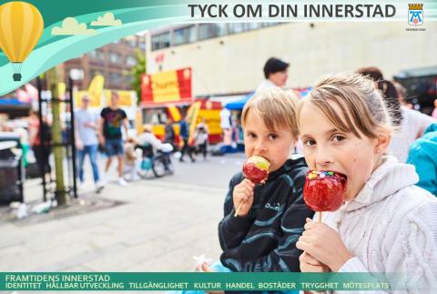 Så vill invånarna utveckla Västerås innerstad