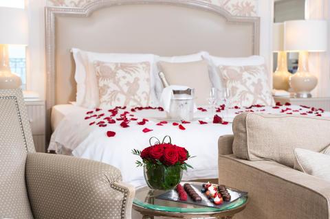 Valentinstag in Lausanne: Eine Nacht für Romantiker