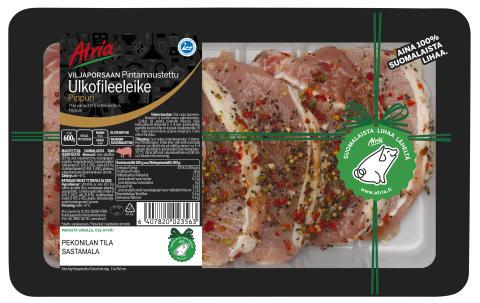 Lisää Atrian jäljitettäviä tuotteita – porsaanlihatuotteisiinkin tilamerkinnät