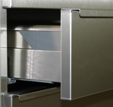 Kökslåda i rostfritt stål