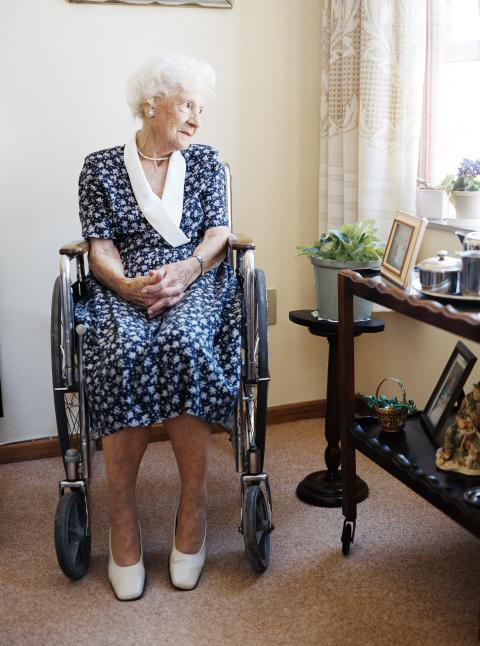 Komptetenshöjning inom psykisk ohälsa för äldre.