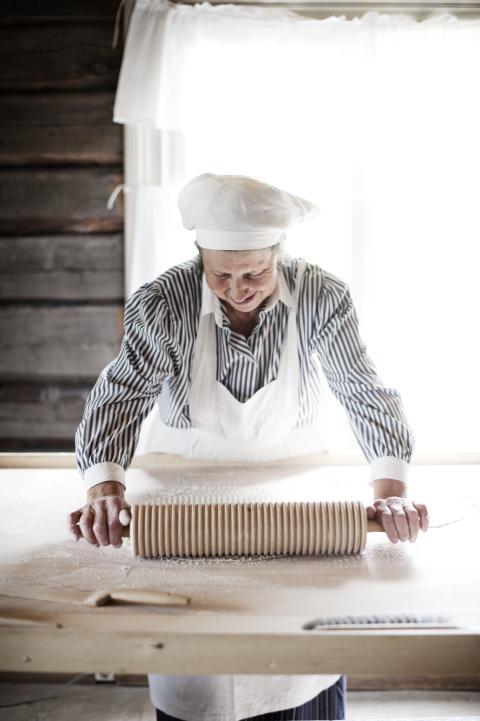 Flatbread baking, Jamtli