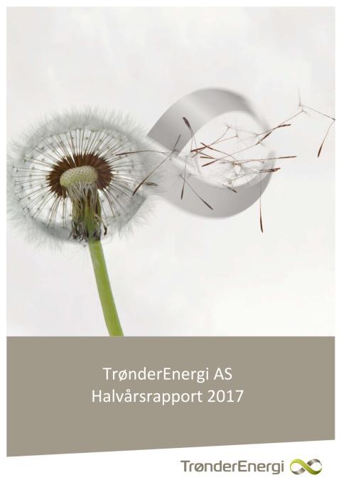 Halvårsrapport for TrønderEnergi AS første halvår 2017