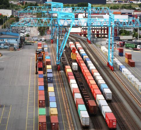 Stark tillväxt på järnvägen