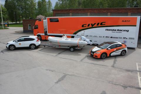 Honda Racing team Sweden