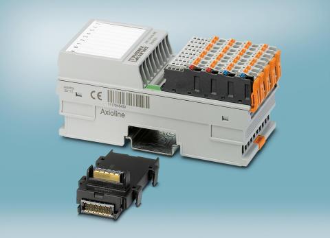 Termoelement mätning med AXIO realtids I/O från Phoenix Contact