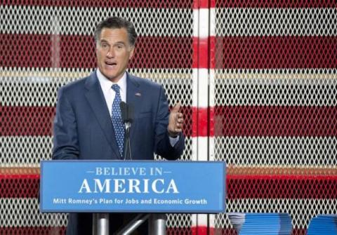 Spokeswoman says Romney backs US wind industry, not PTC