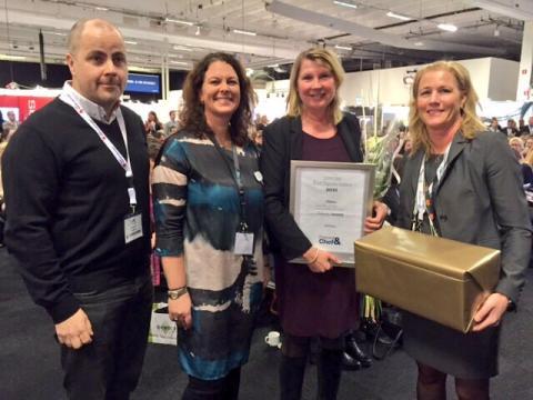Charlotta Friborg utnämnd till Årets Digitala Ledare på Personal & Chef