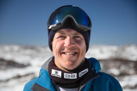 Stian Sivertzen er offensiv etter sesongstarten i Montafon. Nå skal han vinne verdenscupen sammenlagt. Foto: Matt Pain / Snowboardforbundet