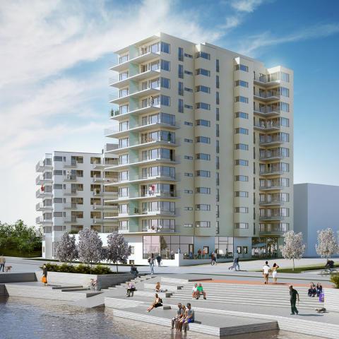 Dörrarna öppnas till ett nytt livsstilsboende i Göteborg