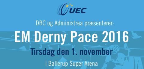 Udsigt til spændende EM stævne i Danmark den 1. november