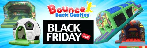 Book a bouncy castle and use our voucher code to save