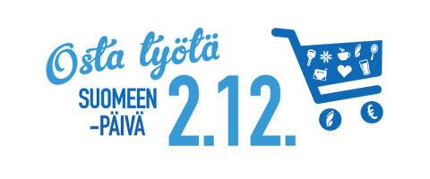 Osta työtä Suomeen -päivää vietetään jälleen perjantaina