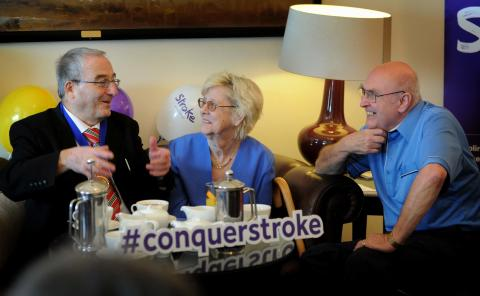 New café launches for stroke survivors in Llandudno