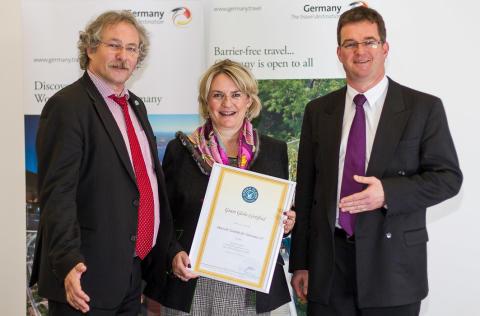 Deutsche Zentrale für Tourismus – Europas första statliga turistbyrå med Green Globe-certifikat