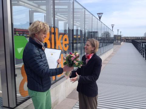 Karolina Skog utsedd till Årets cykelpolitiker