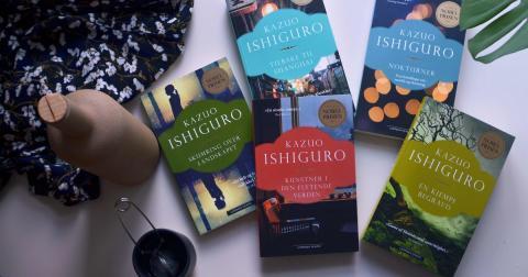 Nobelprisvinner Kazuo Ishiguros bøker selger godt