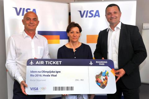 Visa vodi sretnu dobitnicu iz Vinkovaca na Olimpijske igre u Rio