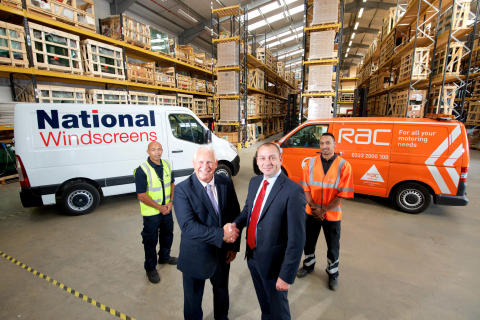 RAC appoints National Windscreens as sole glass provide