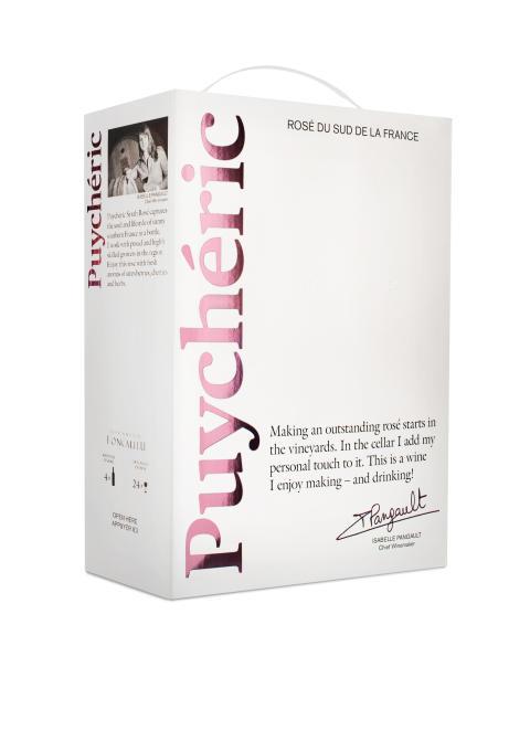 Puychéric Syrah Rosé box