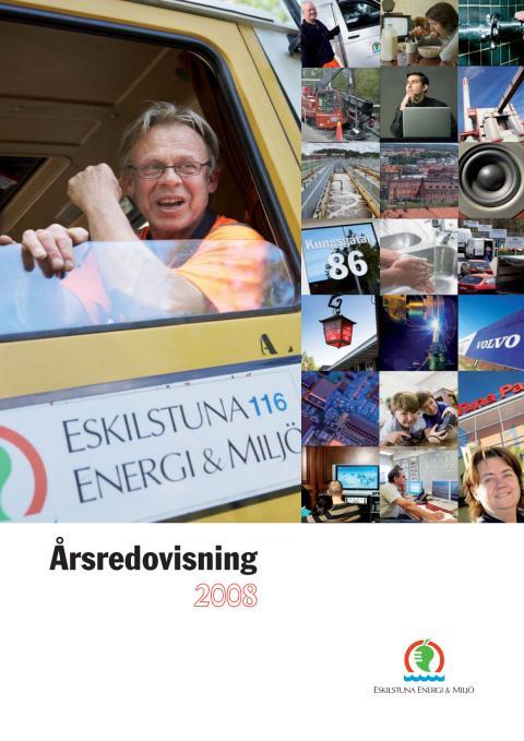 Eskilstuna Energi och Miljö Årsredovisning 2008