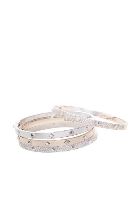 Rare Jewelry PAX armband i vitt guld och roséguld med diamanter