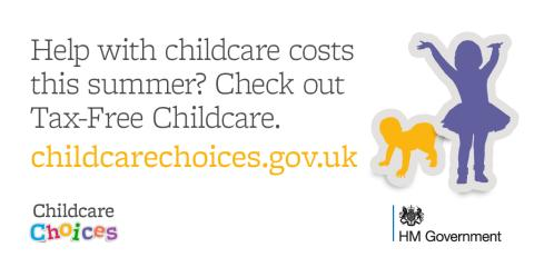 Make summer childcare costs easier with  Tax-Free Childcare