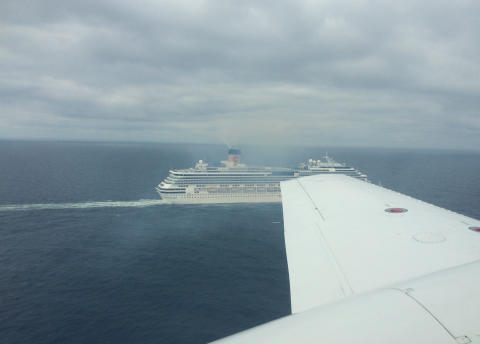 Aerial detection of sulphur emissions