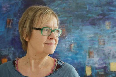 Tua Forsström till Bokens Dag i Lindesberg