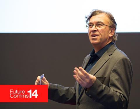 Technology and media expert Tom Foremski talks #FutureComms