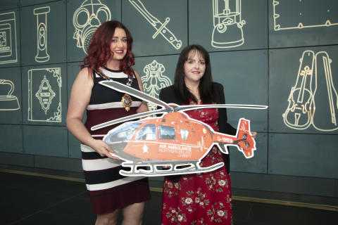 ​£13k lift for Air Ambulance from Mayor of Mid and East Antrim