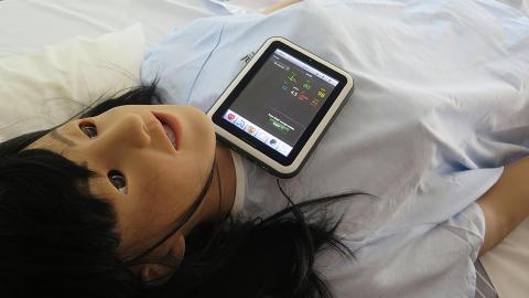 Sölvesborgs kommun testar välfärdsteknik med simuleringsdocka