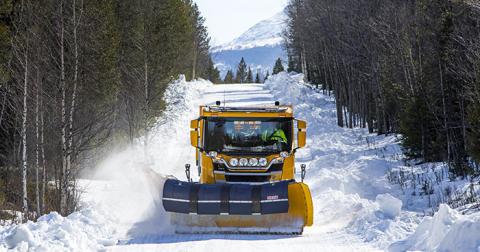 Svevias vägunderhåll kan vinna pris för hållbar infrastruktur