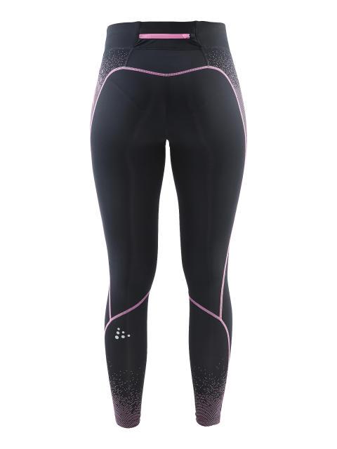 Delta Compression long tights för dam i färgen black/pop