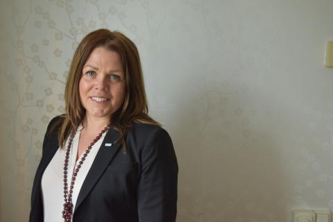 Anna Rosengren, Rådgivningschef på Almi GävleDala. Foto: Lina Renberg, Almi